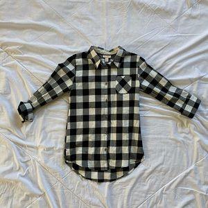 Cat & Jack flannel size L (10/12)